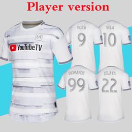 camisolas Desconto Versão do Jogador LAFC Jerseys MLS 2019 Camisa de Futebol Casa Fora de Los Angeles FC ZELAYA ROSSI VELA ZIMMERMAN Mais 10 pcs Livre DHL grátis