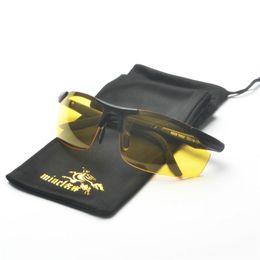 e3c0119775 Anti-Glare Anti-Dazzle Polarizer Car Drivers Night Vision Goggles Polarized  Driving Glasses Copper Sunglasses Accessories FML