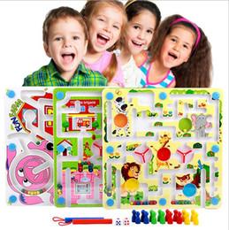 Labirent macera satranç oyunu Çift taraflı manyetik boncuk taşıyan kalem labirent bulmaca hayvan çocuk ahşap bulmaca oyuncak supplier animal mazes nereden hayvan labaratuvarı tedarikçiler