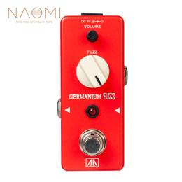 partes de transistores Rebajas NAOMI Pedal de efecto de guitarra Aroma AGF-5 Germanio Transistor Fuzz True Bypass Guitar Parts Accesorios Nuevo