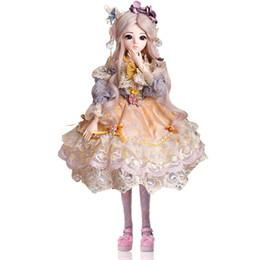 888fd245d Viciviya sd bjd 1/3 menina dolls olhos castanhos com bjd roupas perucas  sapatos de maquiagem 100% handmade beauty toys reborn silicone boneca bjd