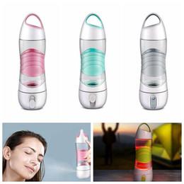 nachtlicht tasse Rabatt LED-Licht Smart Wasserflasche Tracks Wasseraufnahme leuchtet, um Sie daran zu erinnern, Nachtlichter Notfall Sport Becher Auto Cups CCA11580