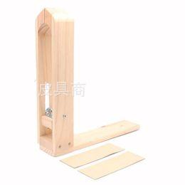 legno artigianale Sconti Fabbrica diretta fai da te morsetto da cucire in pelle di legno Artigianato Craft Clip Leatherwear Utensili a mano Tavolo Deskt 34db E1