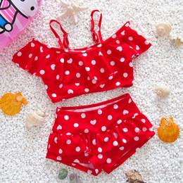 2019 enfants européens et américains maillots de bain filles et filles maillots de bain princesse bébé bébé bikini une pièce split maillot de bain costume ? partir de fabricateur