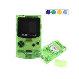 игровая консоль для мальчиков Скидка Gb Boy Color Color Портативные игровые приставки Игрок с подсветкой 66 Встроенные игры 5 цветов Gb Boy Ручные игры T6190615