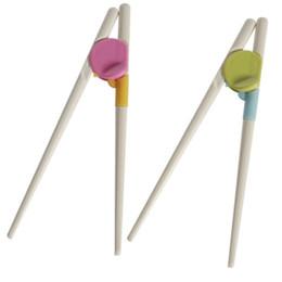 Pauzinhos para Sushi Bebê Crianças Dos Desenhos Animados Food Sticks Fácil Uso Divertido Aprendizagem Treinamento Auxiliar Pratos Jantar Jogo ferramentas de Cozinha de