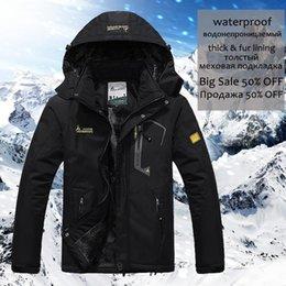 Parka Coat Su geçirmez dağ ceket Isınma 5XL Kalın Kış Ceket Erkekler L Kapşonlu Polar WINDBREAKER Men Cepler nereden