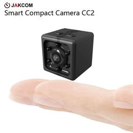 Wholesale Venta caliente de la cámara compacta de JAKCOM CC2 en mini cámaras como cámara llevada cuerpo del shotkam del bolso de la cámara del slr