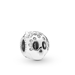 Crânios de pandora on-line-2019 Primavera Atacado real prata esterlina 925 Sparking Charme Crânio Beads Fit Pandora DIY Jóias