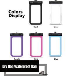 Canada Sac étanche Sac étanche PVC Sac de protection pour téléphone portable avec boussole pour la plongée Sports de natation pour iphone 6/6 plus Offre
