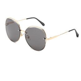 Metallschmetterlings-Form-Frauen-Sonnenbrille-neue Art- und Weisehohlrahmen-Entwurfs-Doppelt-Farben polarisierte Objektivsonnenbrille Freies Verschiffen R913 von Fabrikanten