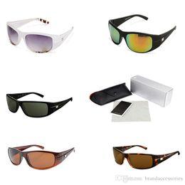 Envolver alrededor de marcos online-Envoltura alrededor de las gafas de sol de plástico de los hombres Marco Redondo Espejado gafas de sol Gafas de Pesca Marca Atlética Moda Bicicleta de Montaña Gafas de Sol 4057