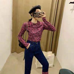 blusas de senhora Desconto Womens Designer Camisa Tee 2019 Primavera Slim Fit Camisa Moda Marca Tshirts Senhoras Blusa Designer Tops Roupas Femininas