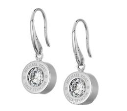 New York Designer Boucles D'oreilles En Cristal De Mode Boucles D'oreilles Avec Logo Big Diamond Alliage Jewelries Pas Cher Célèbre Designer Bijoux ? partir de fabricateur