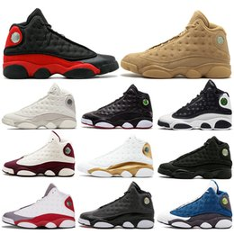 94e7d5f8a All Grey Mens Basketball Shoes 13 Bred Black True Red History Of Flight DMP  Discount Sports Shoe Women Sneakers 13s Black Cat eur40-47
