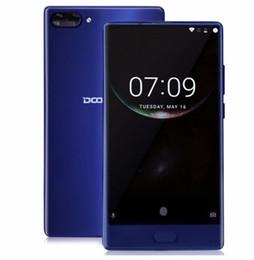 smartphone mtk Rabatt DOOGEE MIX 6GB + 64GB Smartphone ohne Rahmen - Dual Camera 5.5 '' AMOLED MTK Helio P25 Octa Core-Handys Android 7 Auf Lager