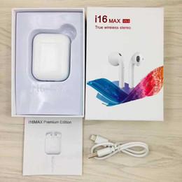 I16 max 5.0 TWS Touch Bluetooth sans fil casque écouteurs avec fenêtre pop up vs i13 i11 pour iphone xs xr samsung s9 s10 vente chaude ? partir de fabricateur
