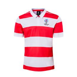 jersey de rugby ao atacado Desconto camisa Japan Home Rugby Polo Jersey RWC 2019 PRO Japão WORLD CUP 2019 camisa de rugby japonesa de futebol de dimensões JERSEY S-5XL (pode imprimir)