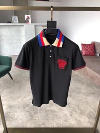 Prodotti a faccia rossa online-T-shirt da uomo T-shirt da uomo Abbigliamento estivo 2019 nuovi prodotti Red face embroiderya