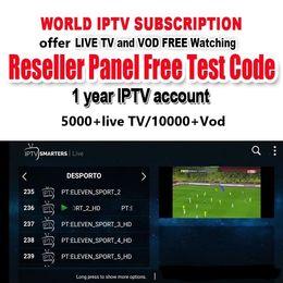 2019 essais sportifs Test gratuit Global IPTV 5000 + chaînes en direct 10000 + VOD Italie Chaîne sportive britannique Anglais Arabe USA Abonnement IPTV pour IPTV box abonnement tv