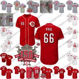fe9a40b1d anthony rizzo jerseys Coupons - Custom 2019 Reds 150th Jerseys Cincinnati 4  Jose Iglesias 15 Nick