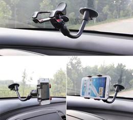 2019 suporte para montagem no pára-brisa do carro s5 Suporte universal do suporte do pára-brisa do suporte do carro do giro de 360 graus para o suporte de GPS da galáxia S5 S6 de Iphone Samsung desconto suporte para montagem no pára-brisa do carro s5