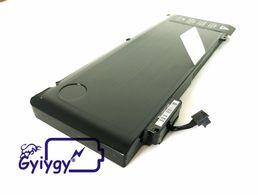 2019 ion portable batterie d'ordinateur portable d'expédition libre pour Macbook Pro 13 pouces Unibody A1322, A1278 63.5wh 10.95v ion portable pas cher