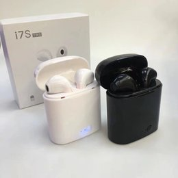 стереонаушники sony ericsson bluetooth Скидка HBQ I7 I7S TWS Близнецы мини Blutooth наушники с зарядкой беспроводная гарнитура наушники вкладыши с микрофоном стерео Bluetooth 4.1 для Iphone 7