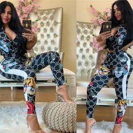 Roupas Femininas Designer Two animal Pieces Set Sexy Imprimir 2 Piece lapela Zip Top cintura alta Calças Treino de Fornecedores de saia assimétrica caqui