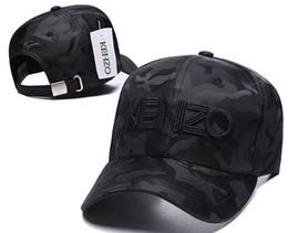 Sombrero de la marca paris online-Diseñador de lujo gorras de béisbol marca Tiger Head sombreros Francia París Kenz bordado hueso Hombres Mujeres casquette Sombrero para el sol gorras Sports Cap 02