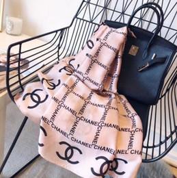 foulards de boutique Promotion 180-90cm femmes à la mode printemps et en été voyage en plein air foulard en soie douce et confortable boutique design unique du printemps D04