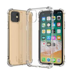 Per iPhone 11 Pro 7 8 6 6S più trasparente TPU caso molle di caso della copertura posteriore da casi personalizzati di metallo fornitori