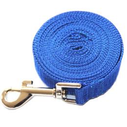 2019 sacs à provisions pour chiens en gros Colliers 3M / 6M / 10M / 15M / 20M / 30M / 50M pour gros chiens Corde en nylon, longue laisse pour chiens, corde de plomb pour la formation de chiot