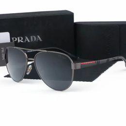 2019 glitter di resina 4021 Occhiali da sole firmati per uomo e donna con montatura metallica occhiali da sole glitter con lenti a specchio e lenti in resina glitter di resina economici