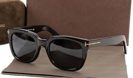 gafas de sol jawbreaker Rebajas Lujosa calidad superior Nueva moda 211 Tom Gafas de sol para hombre Mujer Erika Gafas ford Diseñador de la marca Gafas de sol con caja original 2019