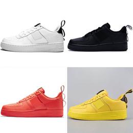 4a396644 Discount One 1 GS Dunk Мужчины Женщины Дизайнер Бег Спорт Скейтбординг  Обувь One High High Cut Белый Черный Открытый кроссовки кроссовки более  высокая ...