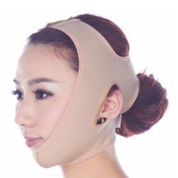2019 v maschere Maschera facciale delicata delle donne Viso di moda V Shaper Face Mask Lady Girl Copertura del fronte di sonno RRA629 sconti v maschere