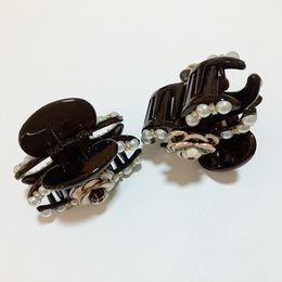 6X4CM Fashion Version coréenne de Camellia importé strass grab clips filles petites fleurs scratch Pour les femmes collecter ornement cheveux 2pcs / lot ? partir de fabricateur