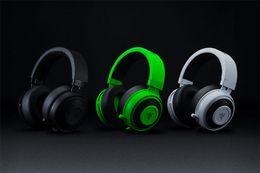 2019 headsets für playstation Analoges Gaming-Headset Razer Kraken Pro V2-Kopfhörer Vollständig versenkbar mit ovalen Mikrofon-Ohrpolstern für PC Xbox One und Playstation 4 günstig headsets für playstation
