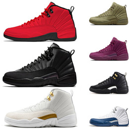 2e89c58b0bbe New arrivals Gym red Basketball Shoes 12 XII Women Men Black Red Athletic  12s French Blue The Master Shoes Sports Shoes free shipping