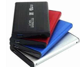 sata disco rígido caso usb Desconto 2.5 polegadas USB 3.0 HDD Caso unidade de disco rígido SATA Externa Gabinete de Armazenamento Box Com pacote de varejo
