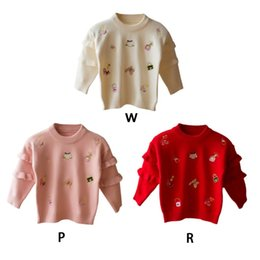 059081823 Teens Sweaters Online Shopping - Winter Warm Children Sweaters Autumn  Cartoon Printed Cotton Sweaters Kids Outerwear