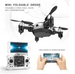 2019 alarme chave de tampa Profissional RC Helicóptero KY901 WiFi FPV RC Quadcopter Mini Drone Dobrável Selfie Drone Com HD Câmera Wifi RC Toy VS H37 H31