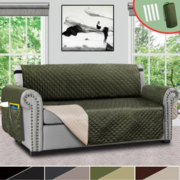 Astounding Couch Sofa Cover For Pet Dog And Kids Waterproof Quilted Chair Recliner Loveseat Sofa Couch Slipcover Furniture Protector Squirreltailoven Fun Painted Chair Ideas Images Squirreltailovenorg