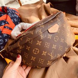 Moda de couro do saco da cintura on-line-Clássico da moda saco da cintura de couro genuíno crossbody pack nova chegada unisex peito bag top excelente qualidade ombro pacotes 11