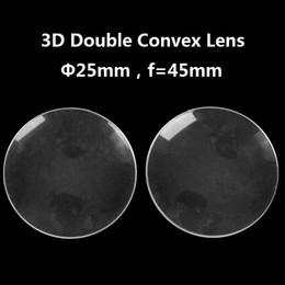Deutschland 100 teile / los Acryl Durchmesser 25mm 45mm fokale BiConvex Objektiv für Google Pappe Virtual Reality 3D VR Gläser Objektiv DIY Großhandel Versorgung
