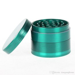 high quality tools Coupons - 55mm Zinc Alloy 4 Layer Grind Tool Pepper Spice Metal Grinder High Quality Handwork Grind Tool