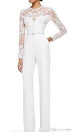 2019 chaqueta de tafetán de talla grande 2019 nuevo vestido de oficina de manga larga de gasa blanca madre de la novia Vestidos trajes de mujer vestidos de mono africano