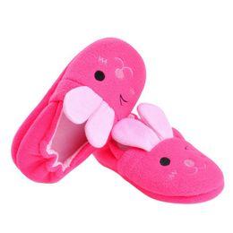 Пластиковые сапоги девушки онлайн-Детская Детская Обувь Детские Хлопчатобумажные Тапочки Домашние Крытые Non-Slip Детские Пластиковые Мультфильм Симпатичные Теплые Мягкие Девочки Ботинки Мальчиков