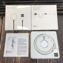 Venta caliente Cable de carga magnético Swatch Boots Up Pad de carga inalámbrica para Apple Watch Cables de cargador 1M Carga rápida 38mm 42mm DHL libre desde fabricantes